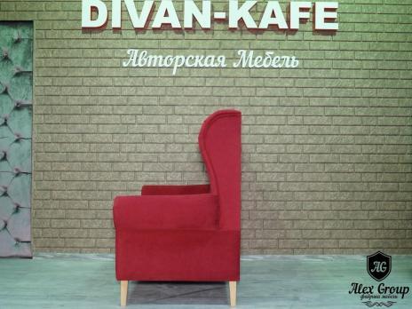Диван для ресторана бара кафе комфорт 2 в каретной стяжке фото