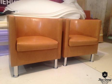 Кресло Белое - подкова