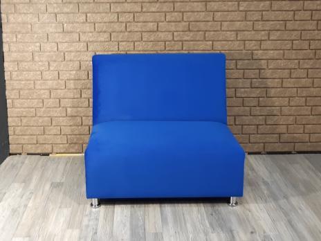 Диван Фаст-фуд велюр (синий)